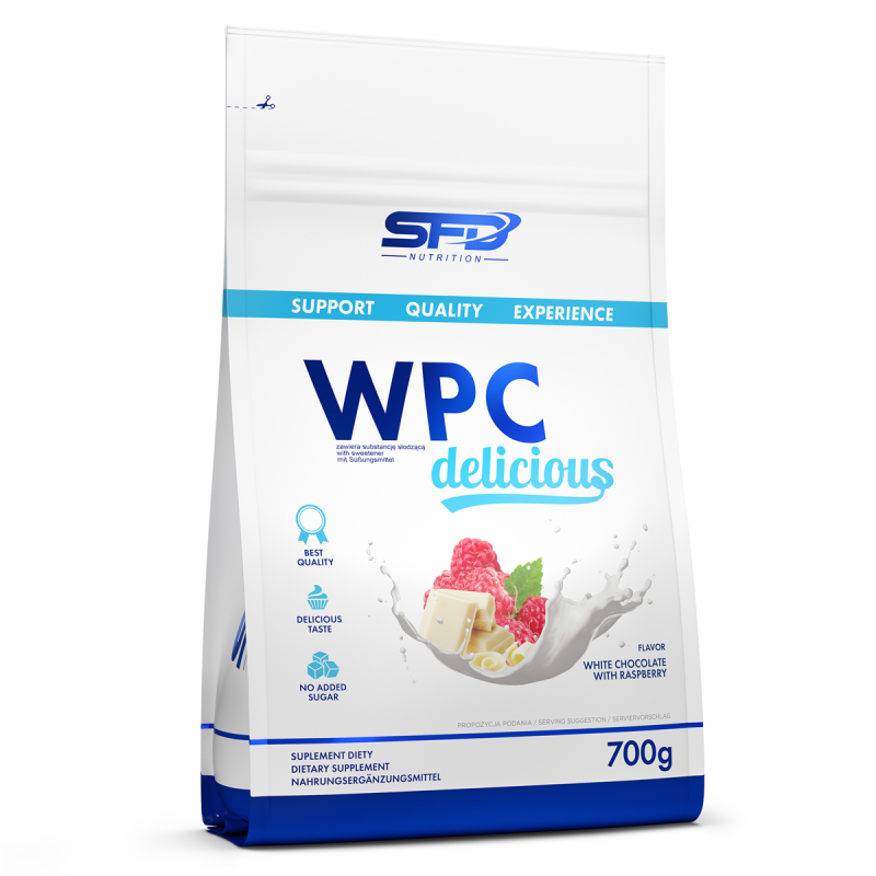 WPC Delicious 700g (Milk with caramel)