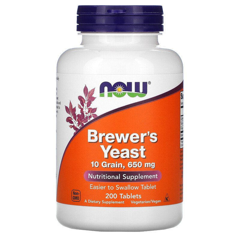 Brewer's Yeast 650 mg 200 tabs