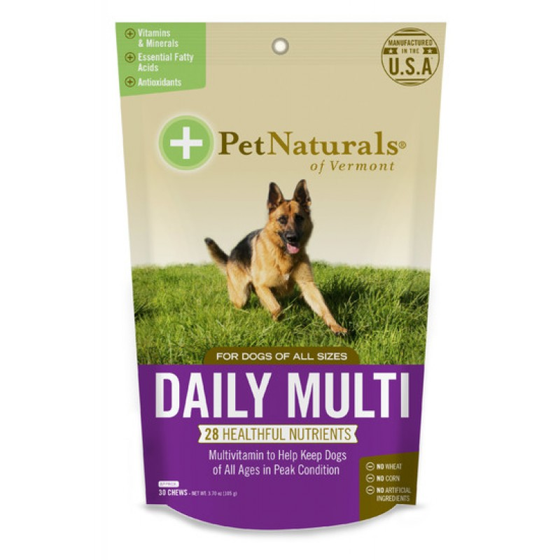 Pet Naturals of Vermont, Daily Multi, For Dogs, 30 Chews