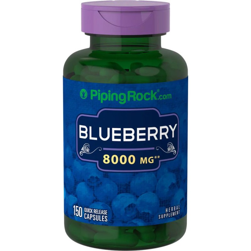 Blueberry 8000 mg 150 Capsules
