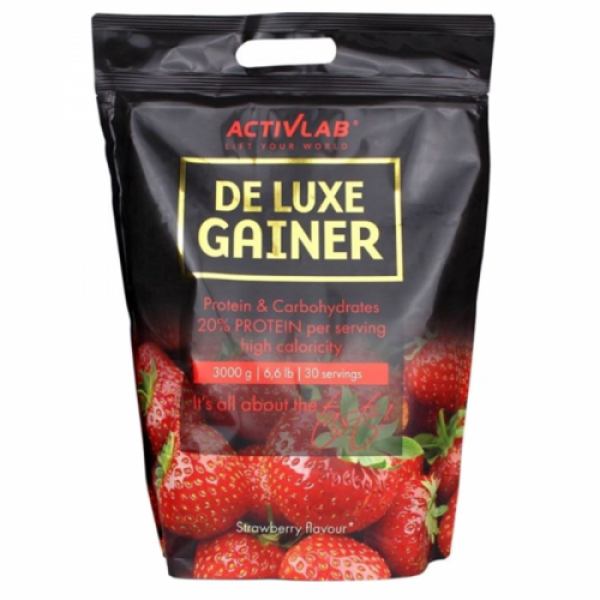 DeLuxe Gainer 3000 g (Strawberry)