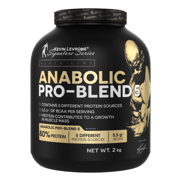 Anabolic Pro Blend 5 80% Protein 2000 g (Caffe Frappe)